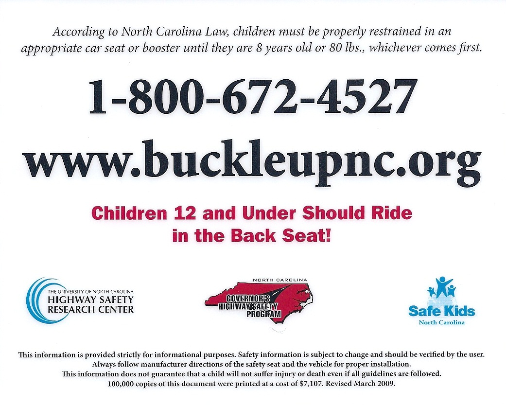 Nc Booster Seat Law Brokeasshome Com
